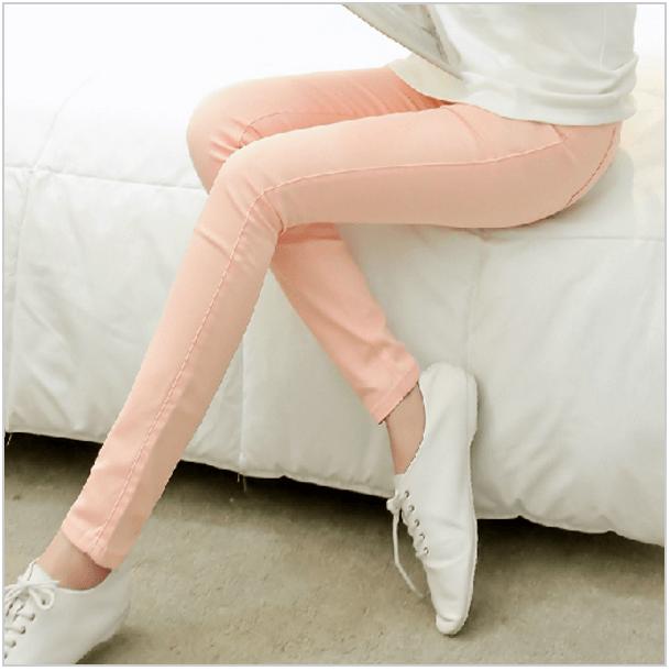 узкие хлопковые брюки