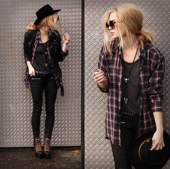 глэм-рок стиль одежды