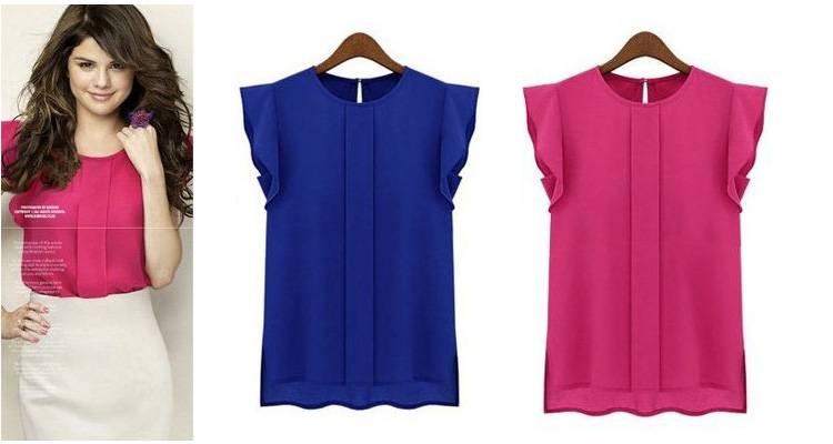Женская блузка на Алиэкспресс