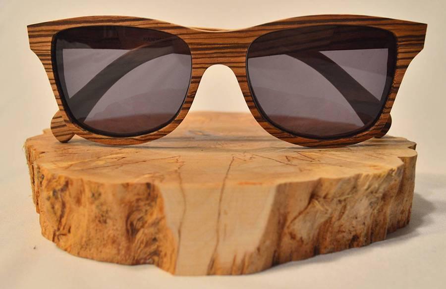 Деревянные солнцезащитные очки