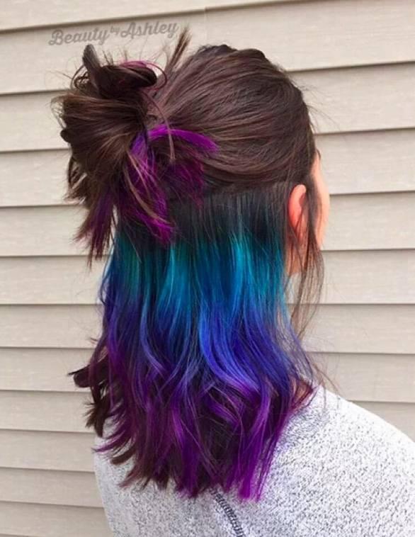 Радуга волосы
