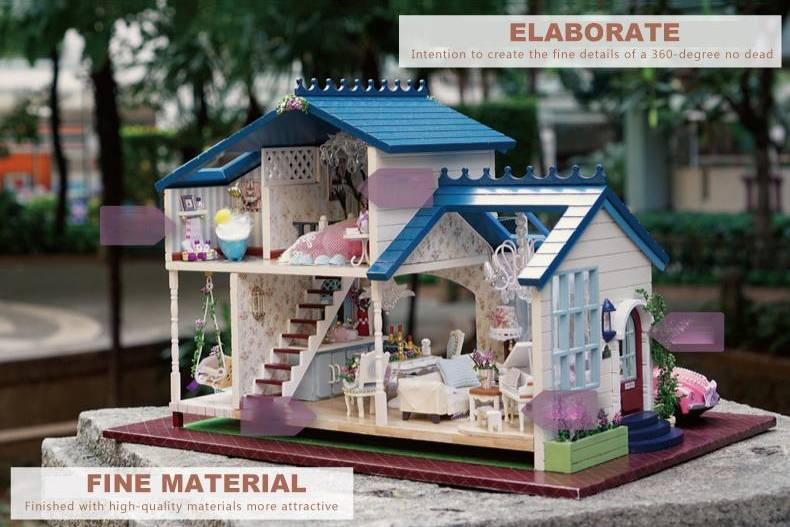 Кукольный домик конструктор