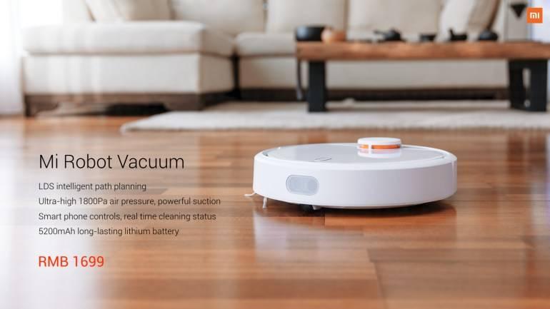Робот пылесос Xiaomi Mi Robot Vacuum