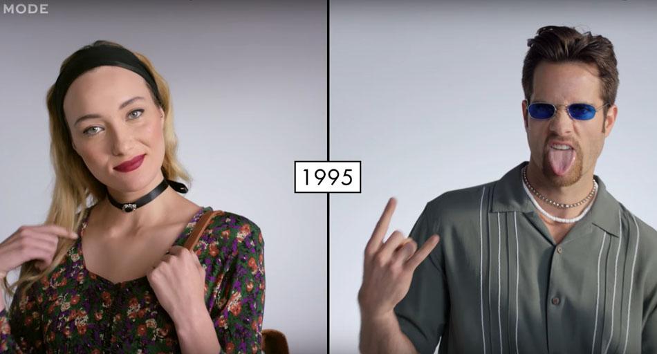 Как менялась мода на протяжении 100 лет