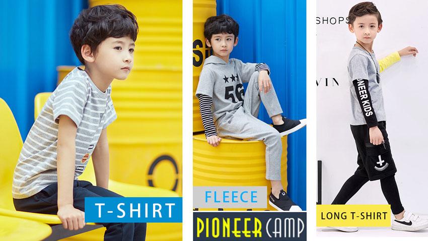 Одежда для мальчиков Pioneer Camp