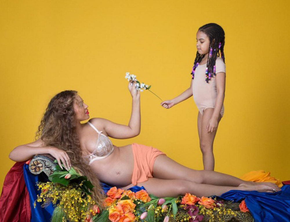 Beyonce с дочерью