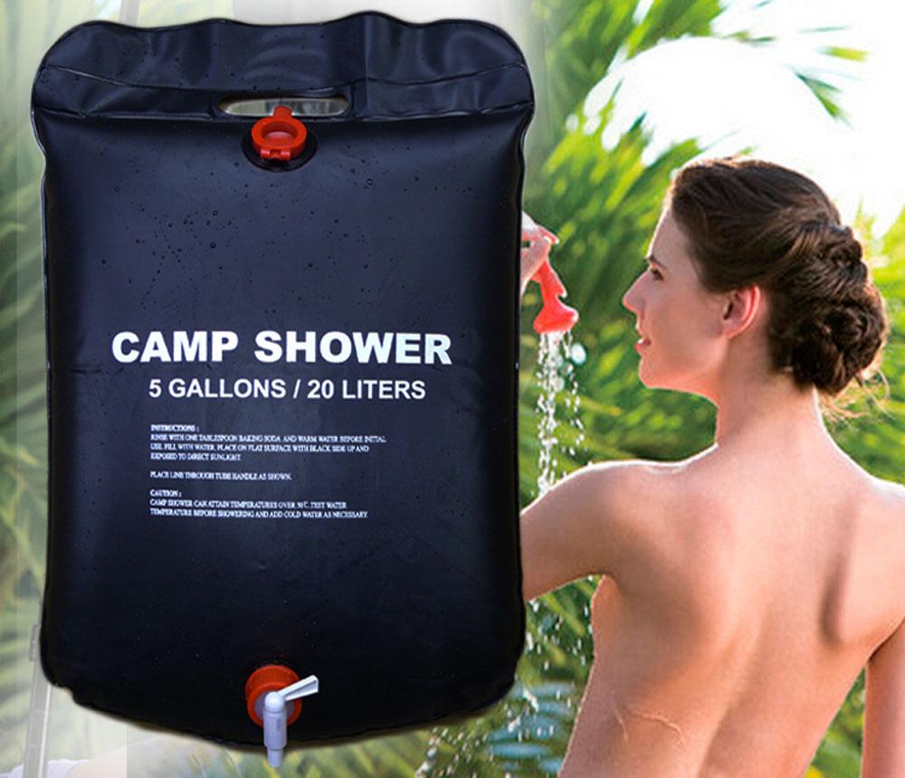 Подвесной душ для дачи