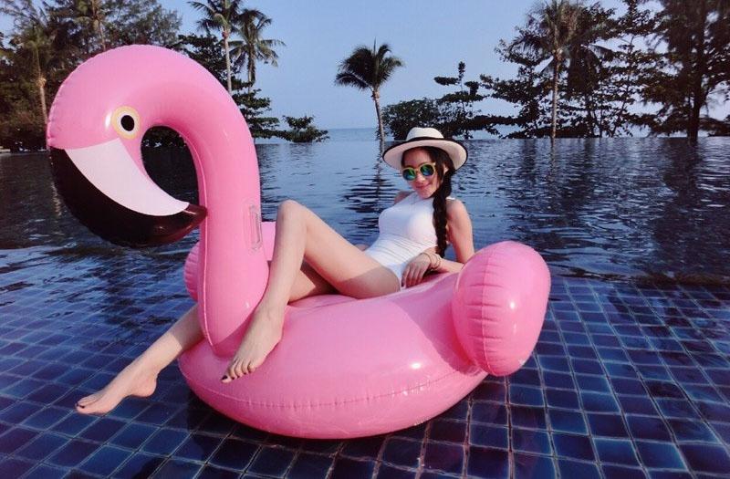 Надувной фламинго