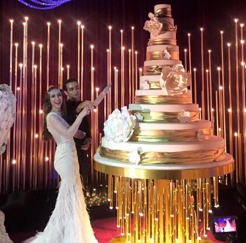 Свадьба олигархов Свадебный торт