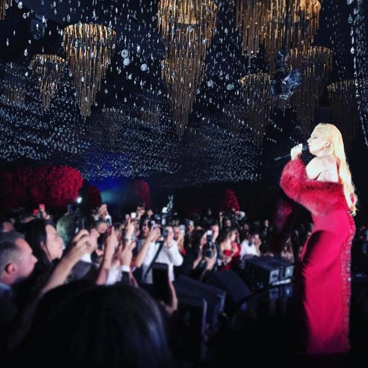 Свадьба в Лос-Анджелесе Леди Гага