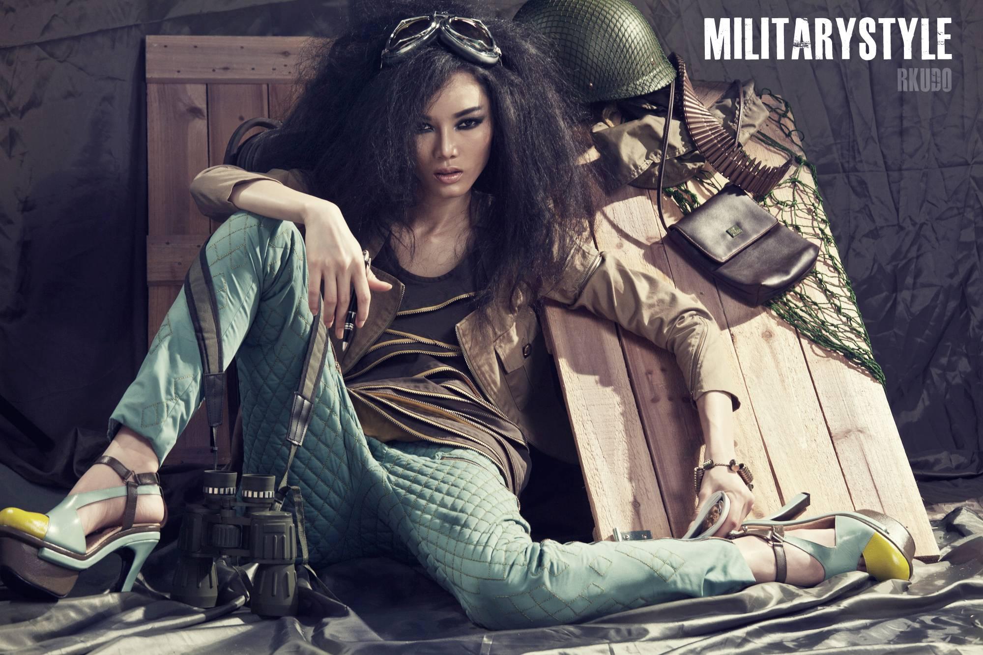 Стиль милитари