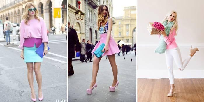 одежда в стиле Барби