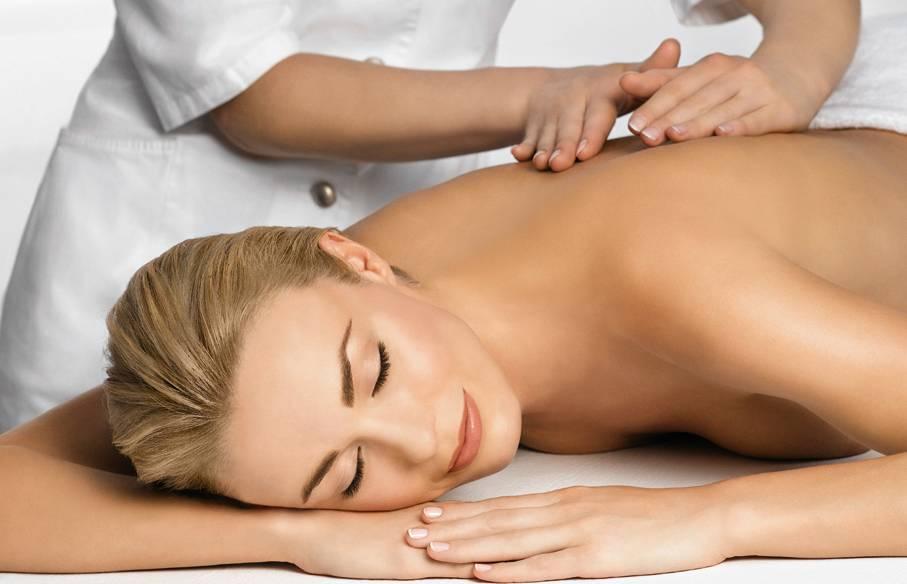 массаж против стресса
