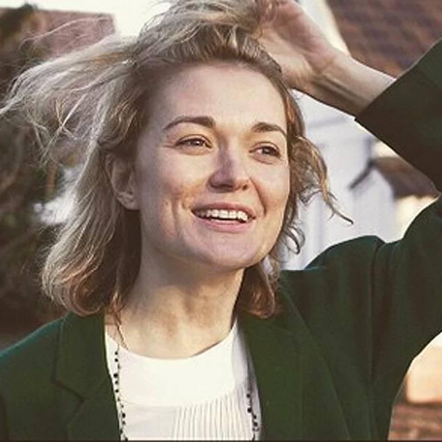 Надя Михалкова без макияжа