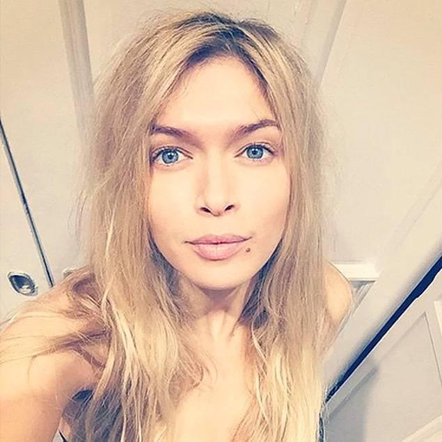 Вера Брежнева без макияжа