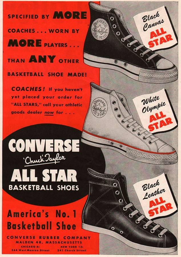 beda508c8 Converse – самые популярные кеды. История создания | Elmoda ...