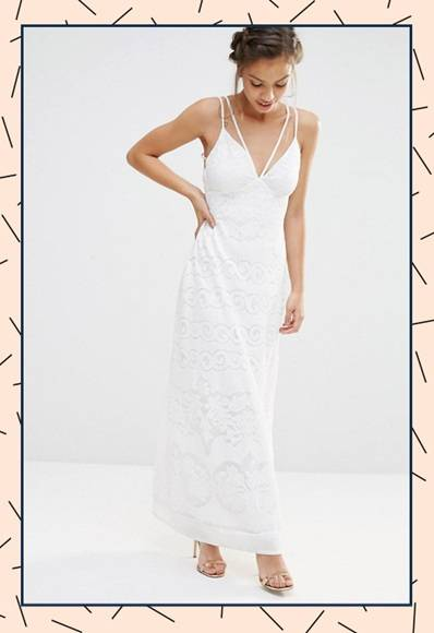 Необычное свадебное платье