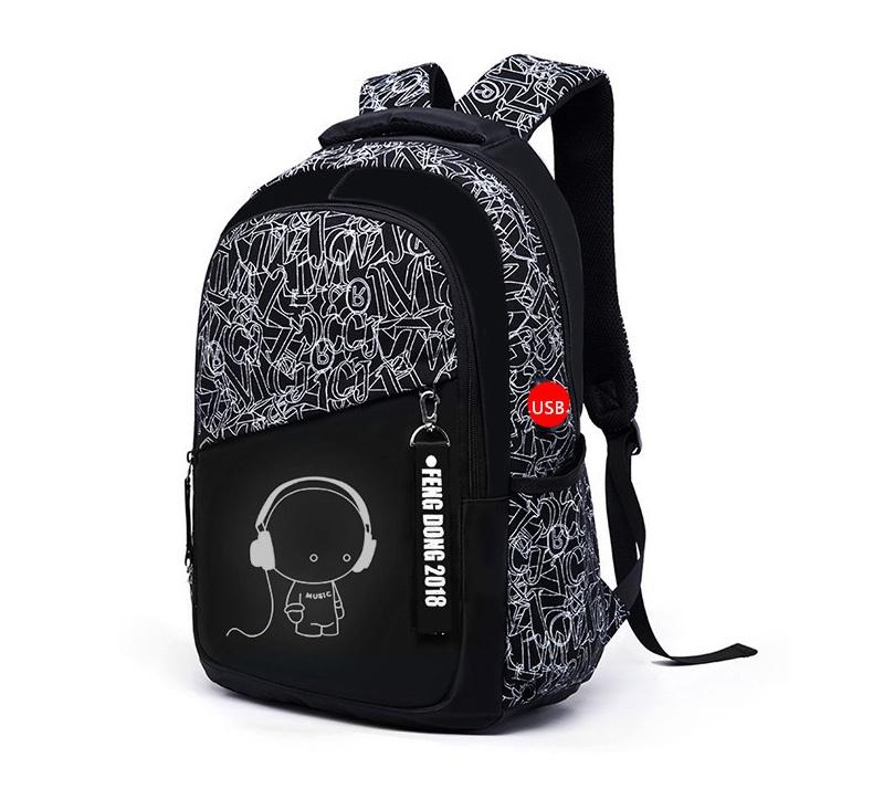 Рюкзак с зарядкой для смартфона