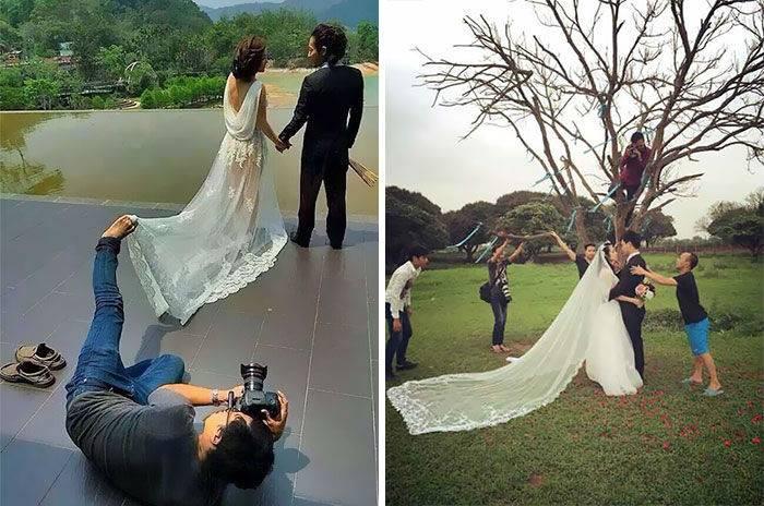 Работа свадебного фотографа