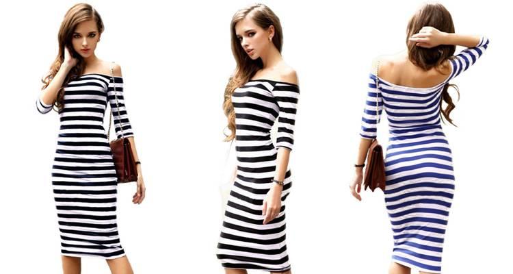 женское платье до колен алиэкспресс