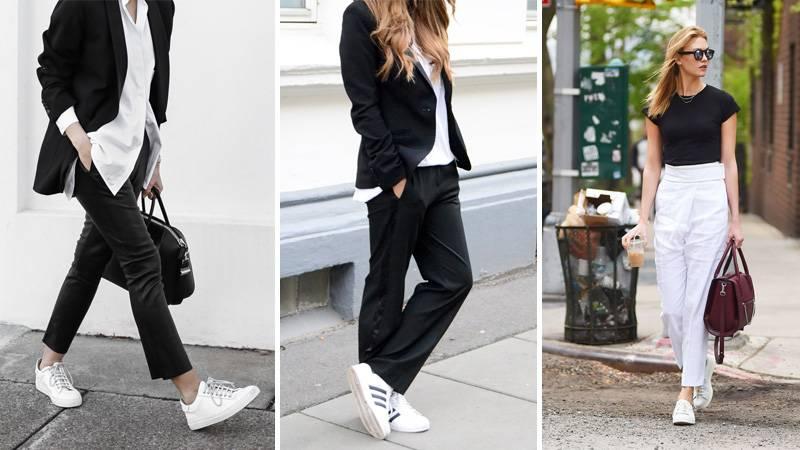 Кроссовки под укороченные брюки 2016