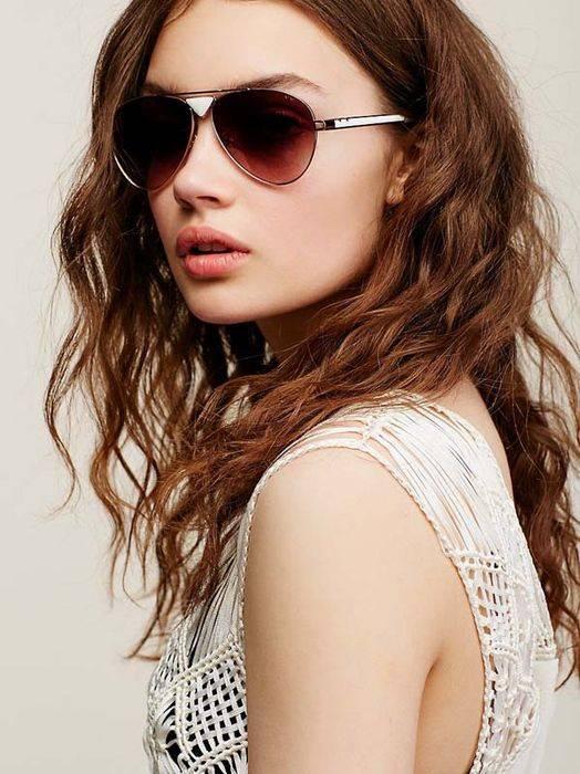 Модные очки - авиаторы