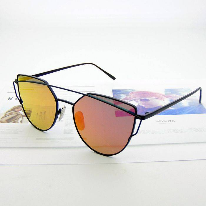 Модные очки - радужные линзы