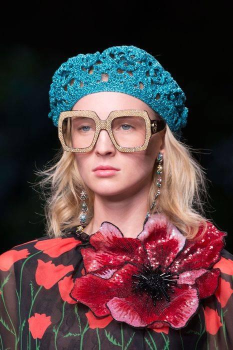 Модные очки - прозрачные линзы