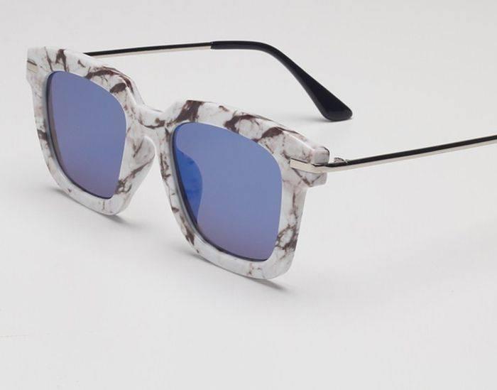 Модные очки - имитация мрамора