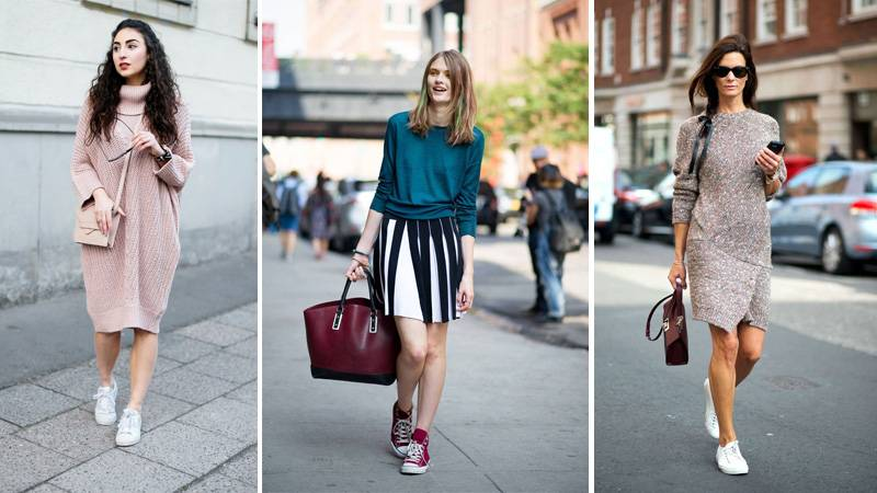 С чем носить спортивную обувь 2016