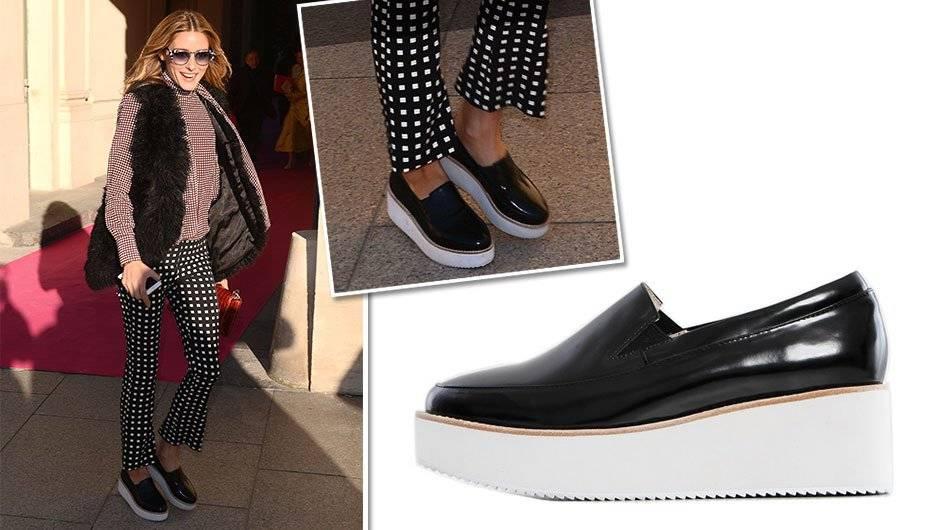 С чем носить спортивную обувь на платформе