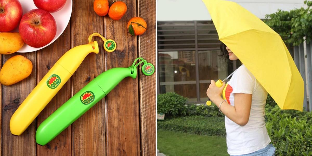 Зонт банан складной