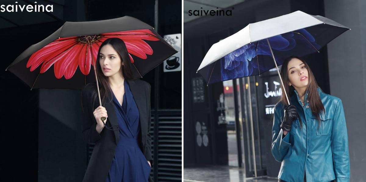 Зонт двухсторонний
