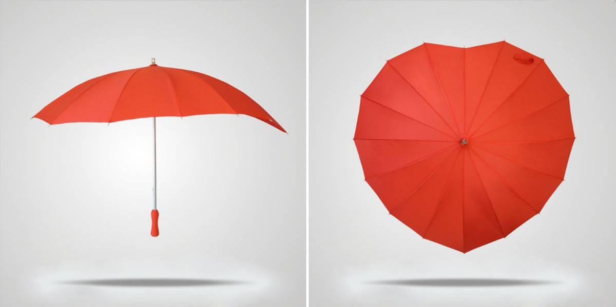 Зонт сердце