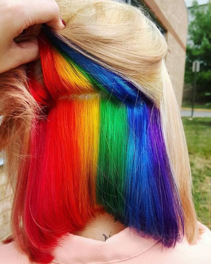 Новый тренд в окрашивании волос