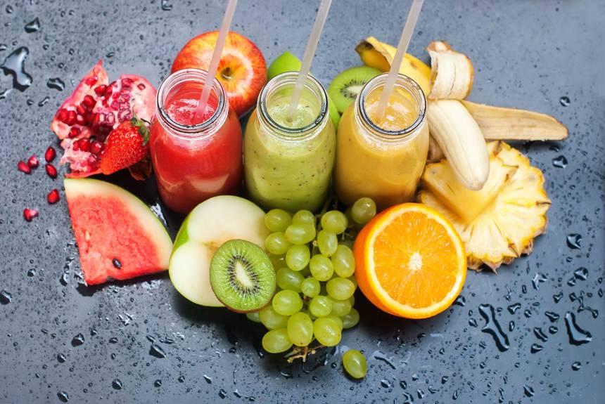 Как похудеть без диет? Свежевыжатые соки