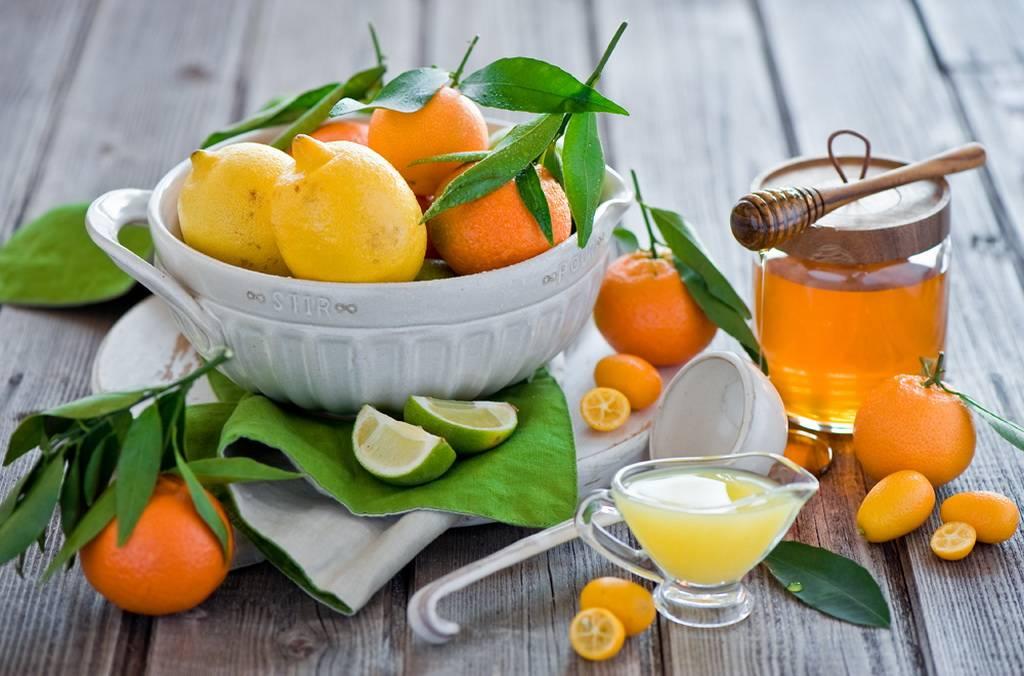Мёд и лимон для повышения иммунитета