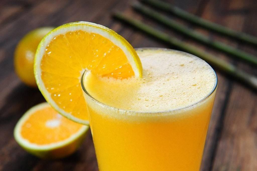 Апельсиновый сок - улучшает зрение