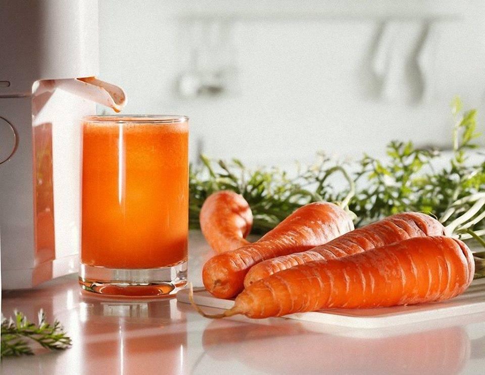 Морковный сок - сохраняет память