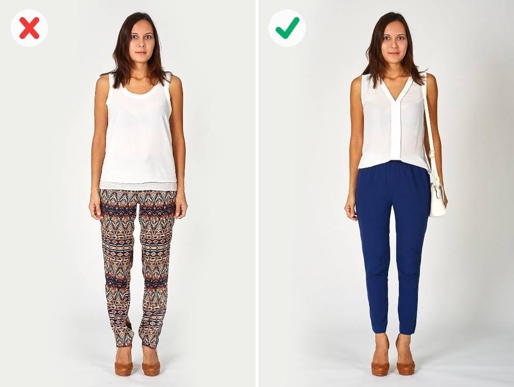Ошибки в выборе одежды