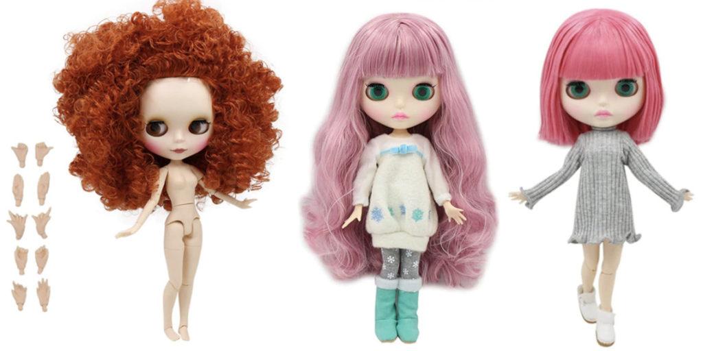 Кукла Блайз на Новый Год