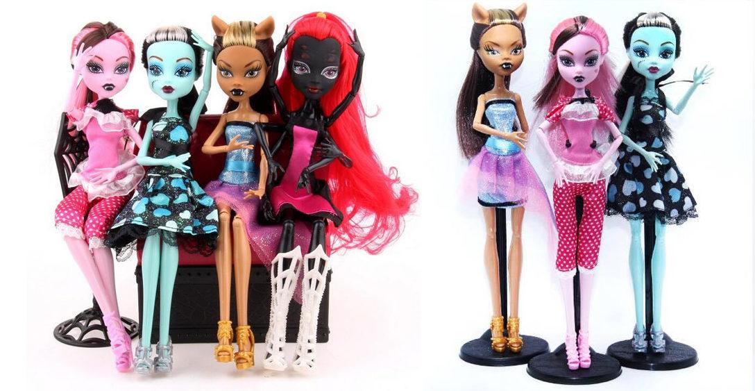 Куклы Монстер Хай на Новый Год