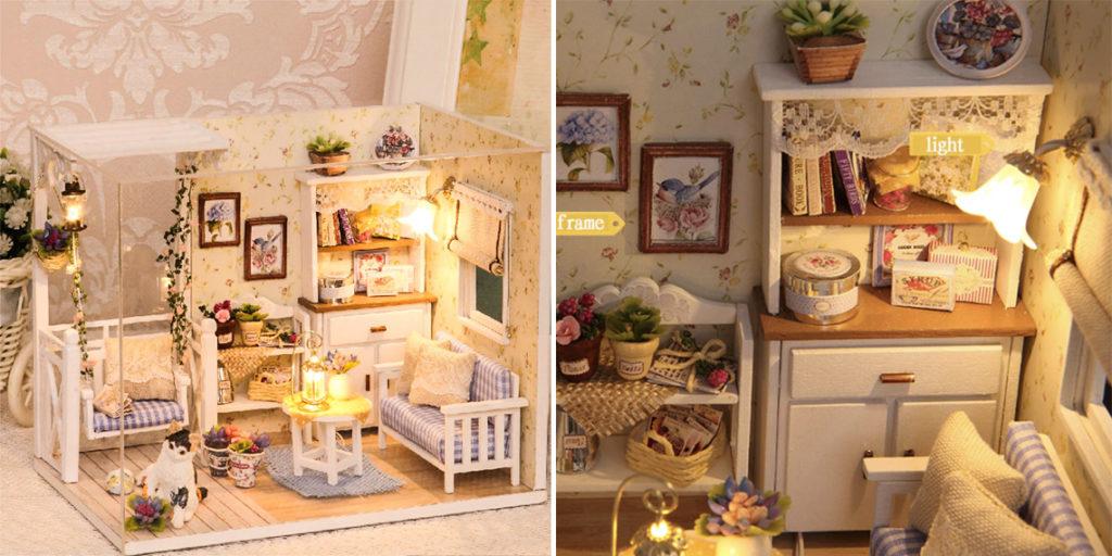 Кукольный домик на Новый Год