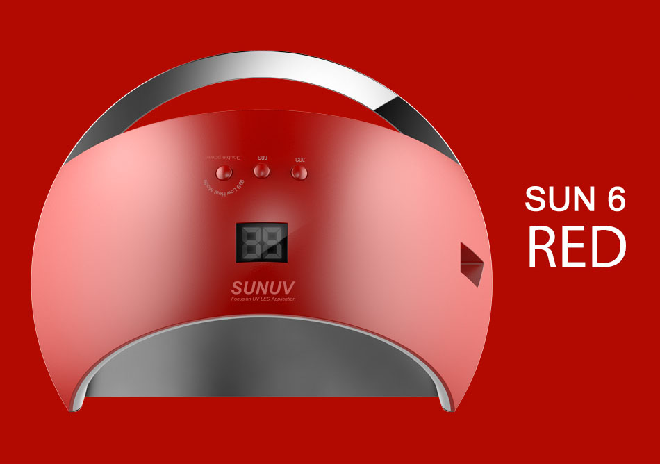 Лампа для ногтей sun6
