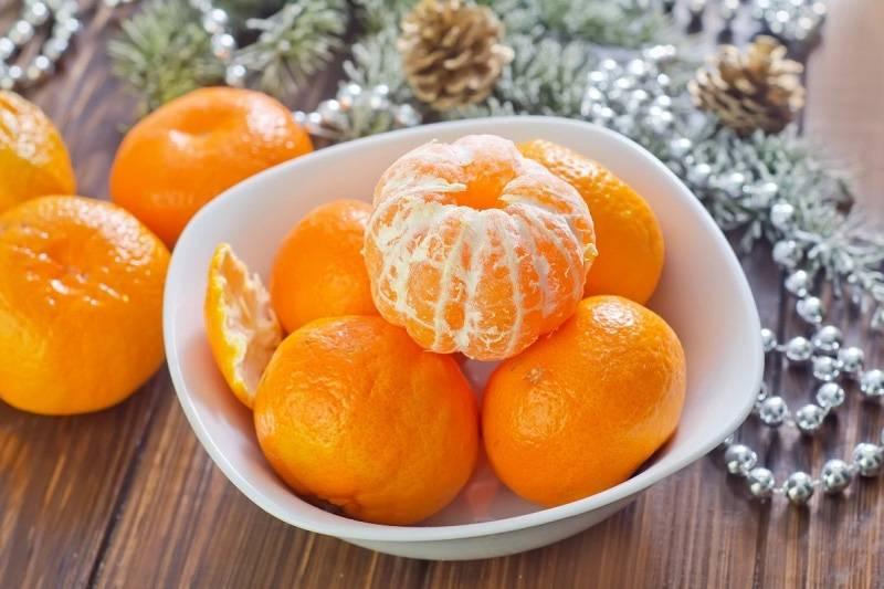 Кушайте сезонные витамины особенно мандарины