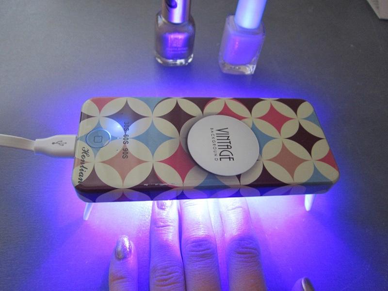 Лампа для ногтей Vintage