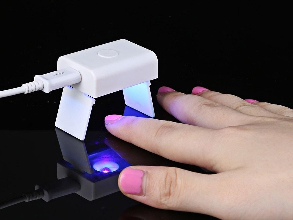 Самая маленькая сушка для ногтей