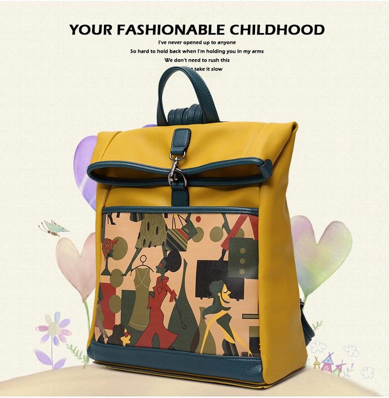 Стильный рюкзак Figestin