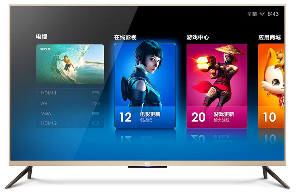 Телевизор xiaomi Mi TV2 смарт