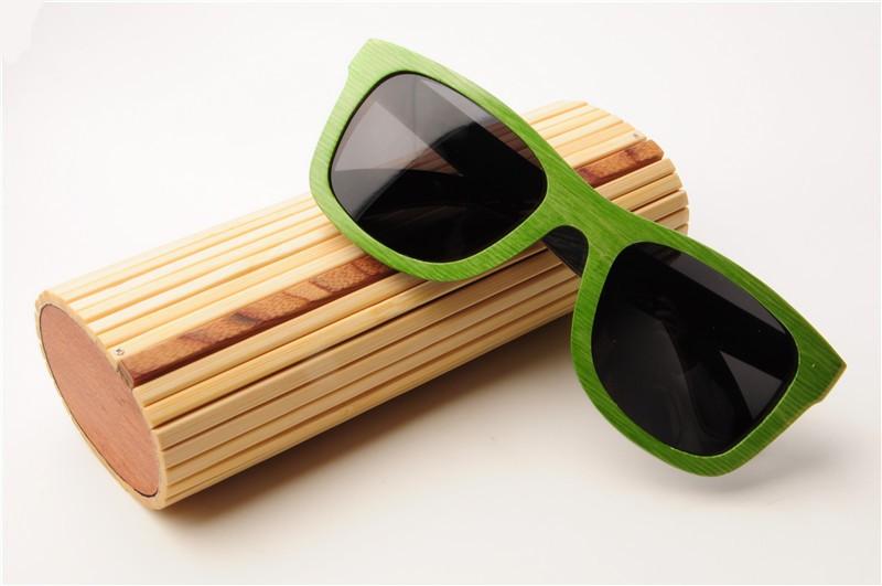 Бамбуковый футляр для очков
